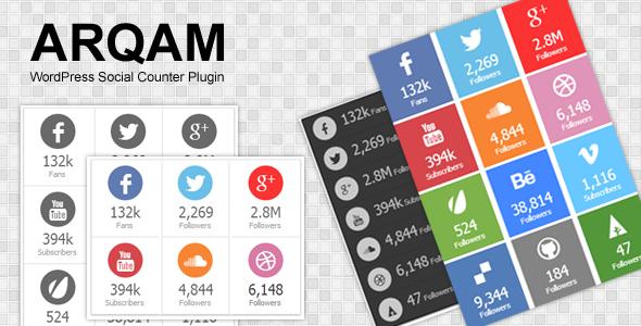 wordpress social counter plugin